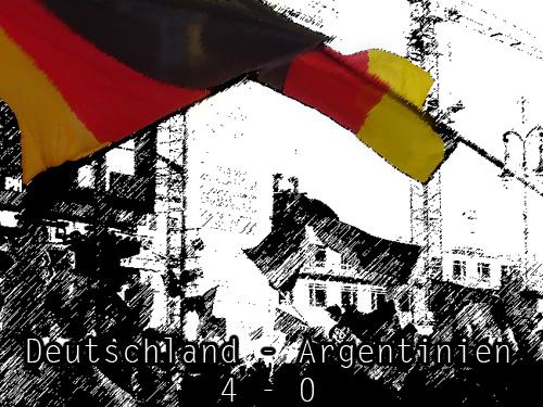 deutschland - argentinien 4-0