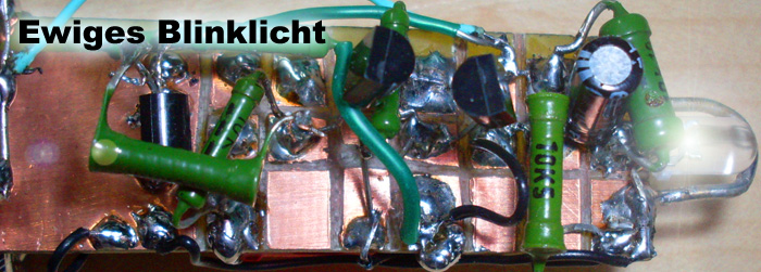 Ewiges Blinklicht, geocaching