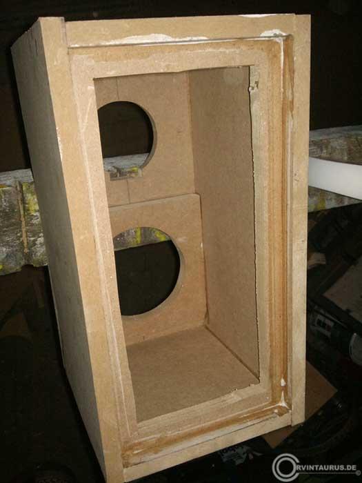 internetpr senz ala corvintaurus lautsprecherbox mit visaton chassis ls reparatur. Black Bedroom Furniture Sets. Home Design Ideas